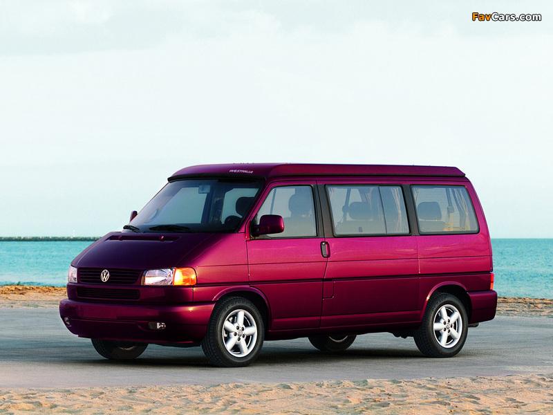 Volkswagen T4 Eurovan Camper by Westfalia 1997–2003 photos (800 x 600)