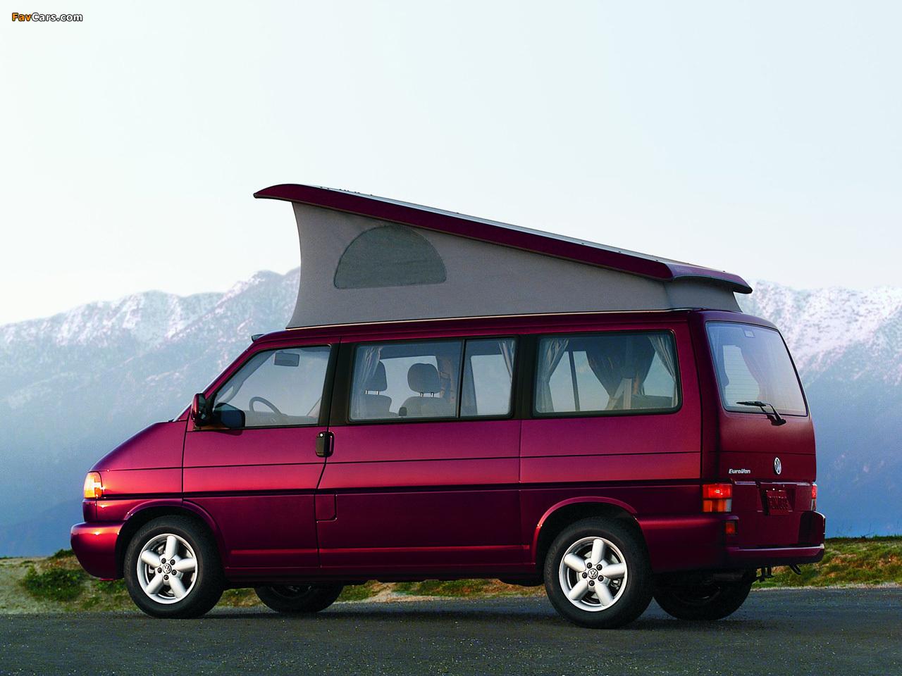 Volkswagen T4 Eurovan Camper by Westfalia 1997–2003 pictures (1280 x 960)