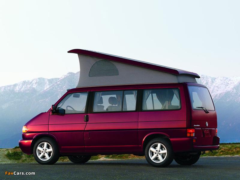 Volkswagen T4 Eurovan Camper by Westfalia 1997–2003 pictures (800 x 600)