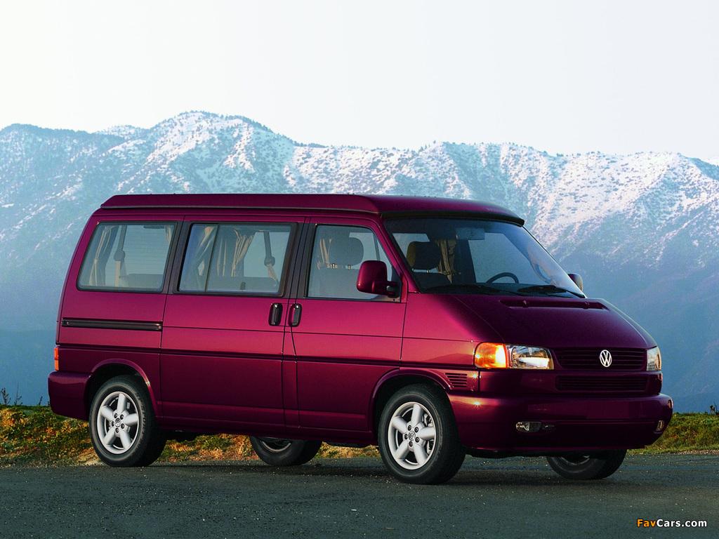 Volkswagen T4 Eurovan Camper by Westfalia 1997–2003 pictures (1024 x 768)