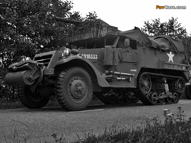 White M2 Half-track 1941–44 images (640 x 480)