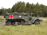 Photos of White M3 Half-track Ambulance 1940–45