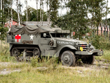 White M3 Half-track Ambulance 1940–45 wallpapers