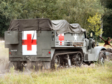 White M3 Half-track Ambulance 1940–45 images