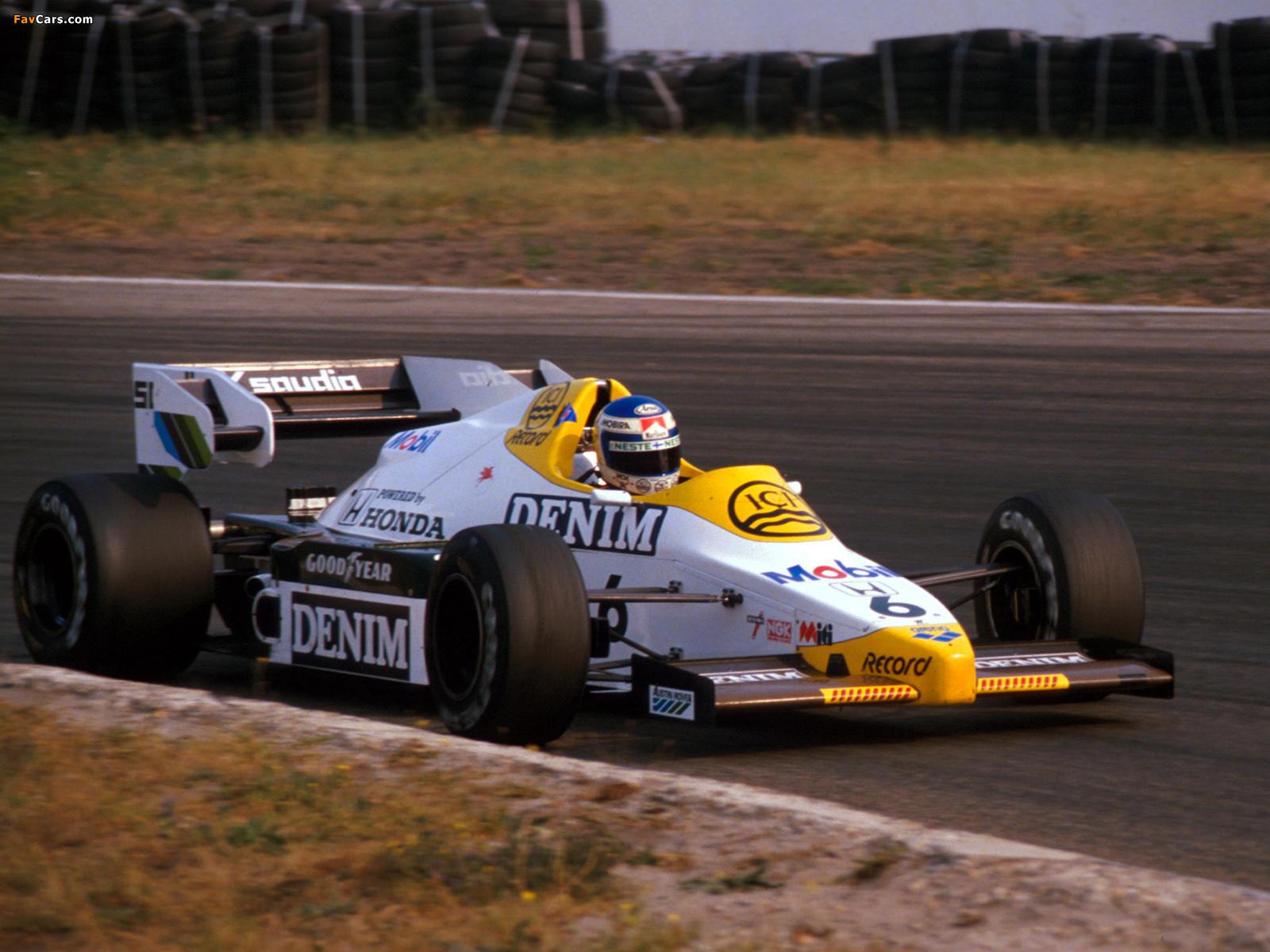 Williams Fw09b 1984 Pictures 1600x1200