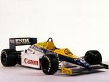 Williams FW10 1985 photos