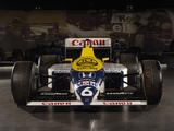 Williams FW11B 1987 pictures