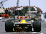 Photos of Williams FW13B 1990