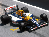 Williams FW14B 1992 wallpapers