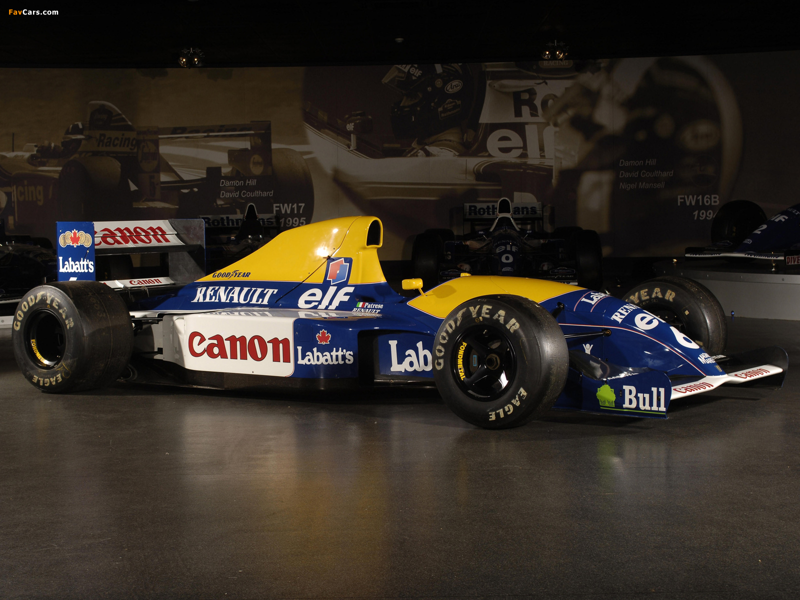 Williams FW14 1991 wallpapers (1600 x 1200)