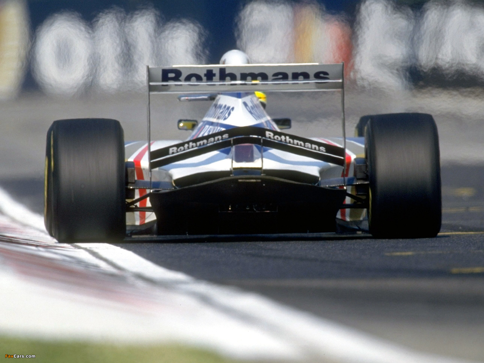 Williams Fw16 1994 Wallpapers 1600x1200