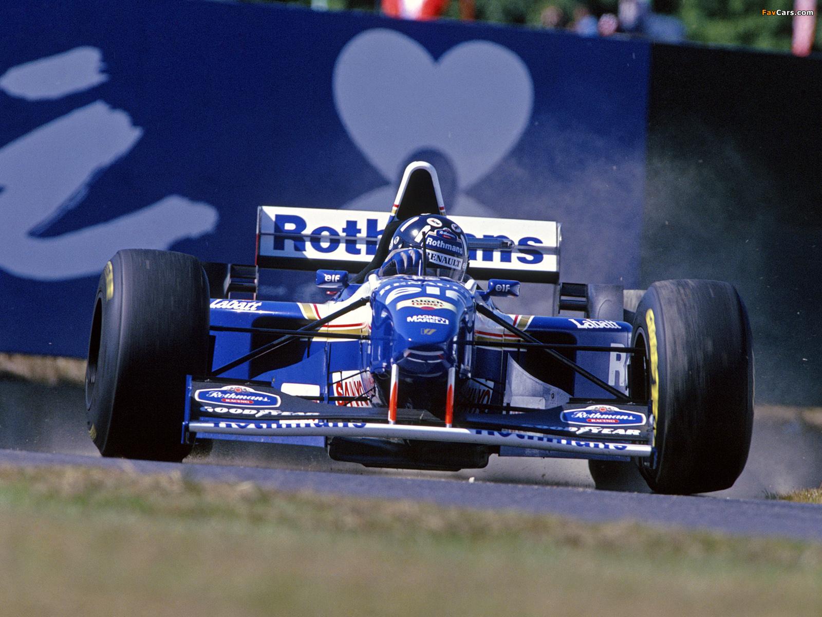 Williams Fw17 1995 Pictures 1600x1200