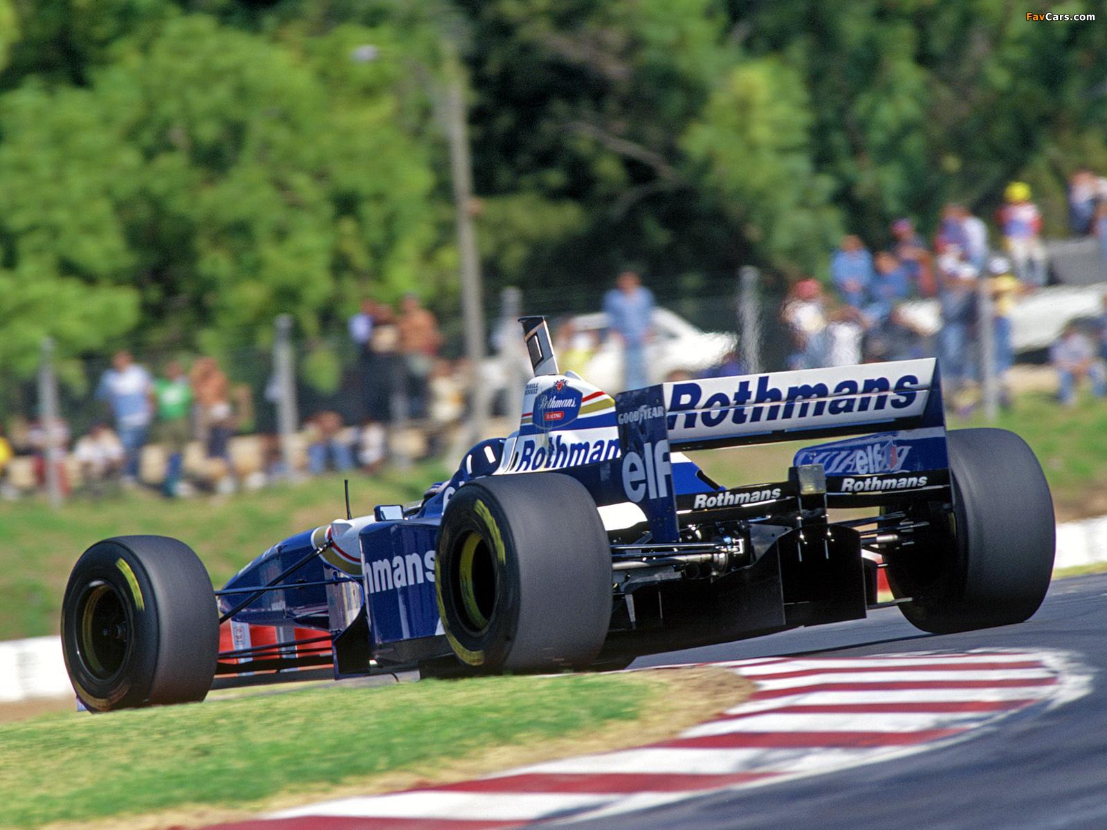 Williams Fw18 1996 Pictures 1600x1200
