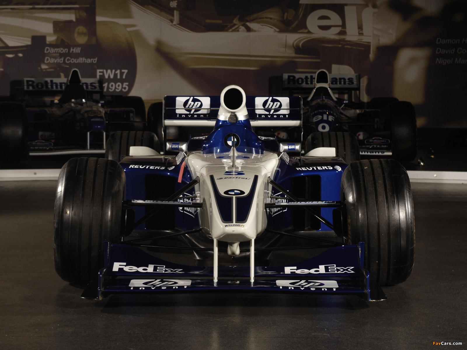 Images of Williams FW20 1998 (1600 x 1200)
