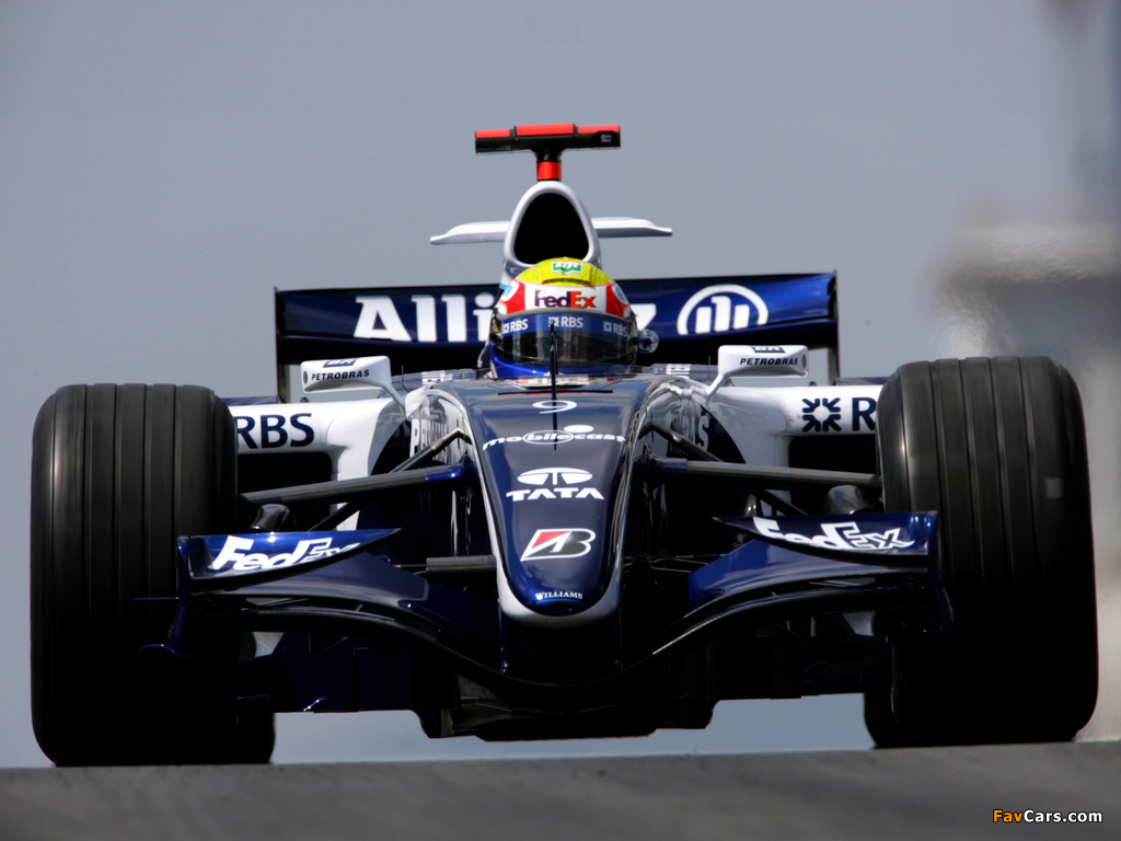 Williams FW28 2006 wallpapers (1024 x 768)