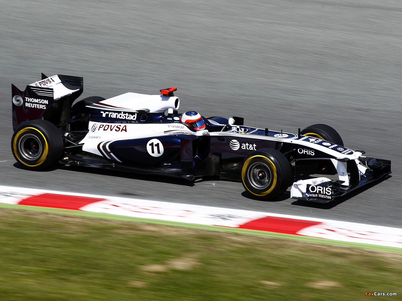 Williams FW33 2011 wallpapers (1280 x 960)