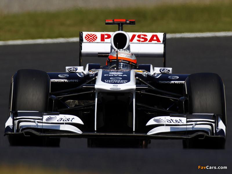 Williams FW33 2011 pictures (800 x 600)