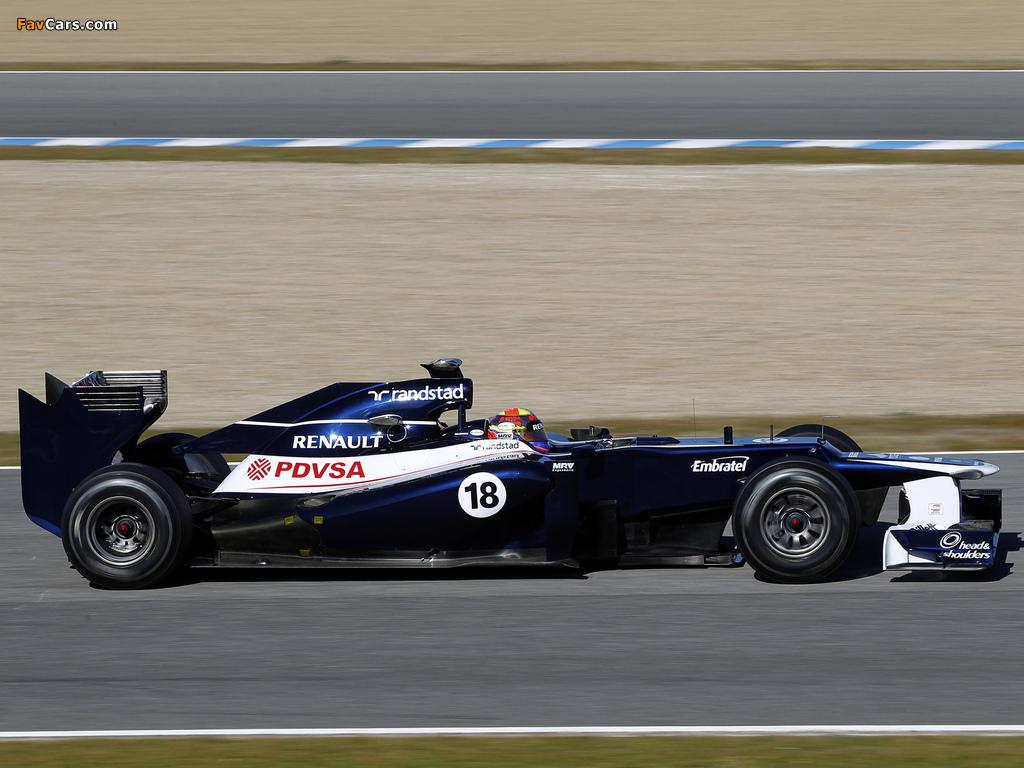 Williams FW34 2012 images (1024 x 768)