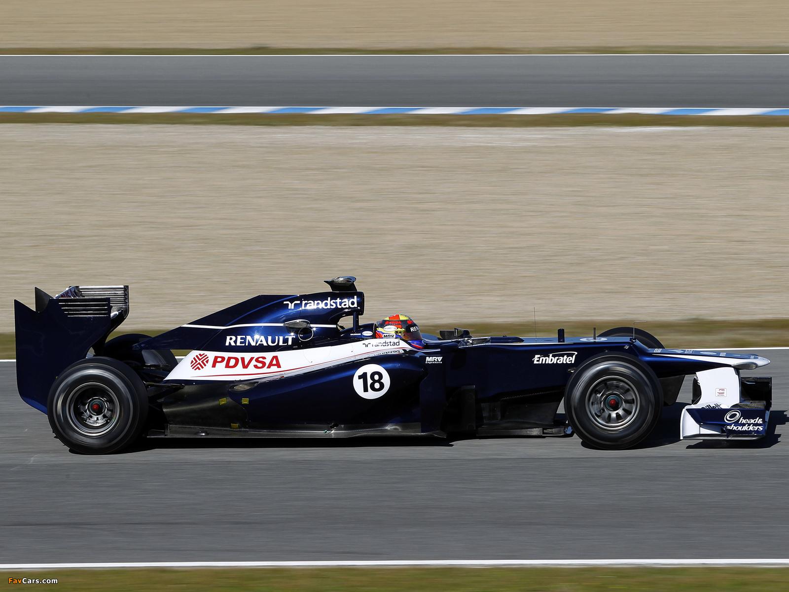 Williams FW34 2012 images (1600 x 1200)