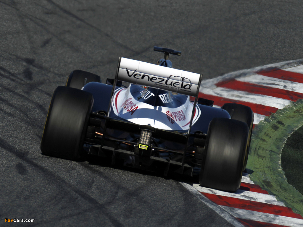Williams FW34 2012 pictures (1024 x 768)