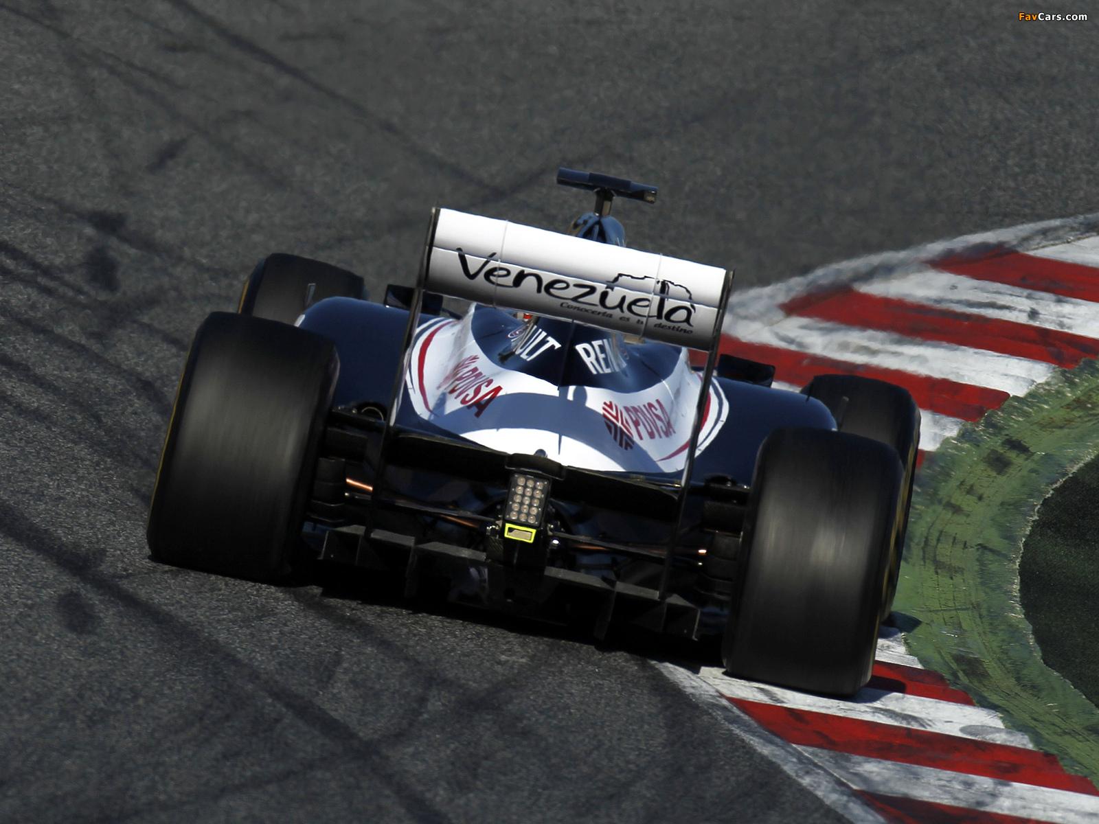 Williams FW34 2012 pictures (1600 x 1200)