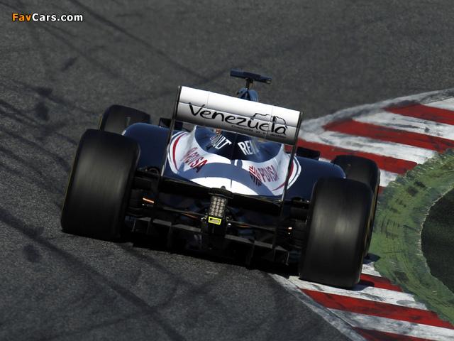 Williams FW34 2012 pictures (640 x 480)