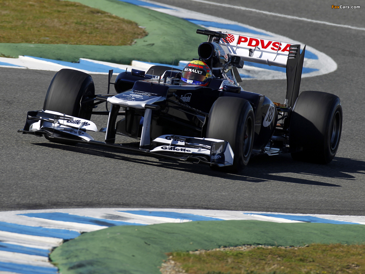 Williams FW34 2012 wallpapers (1280 x 960)