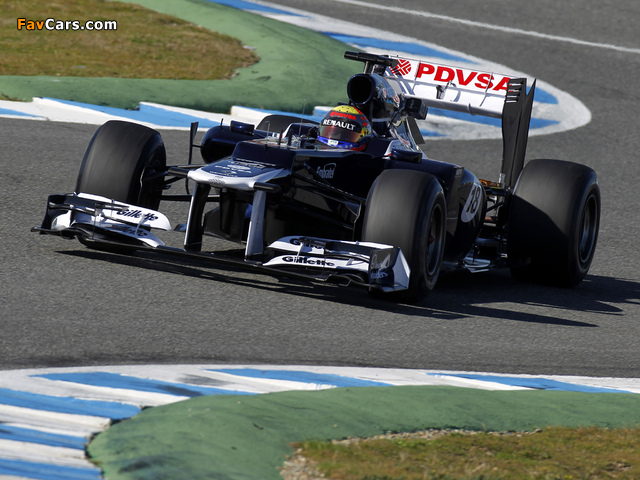 Williams FW34 2012 wallpapers (640 x 480)