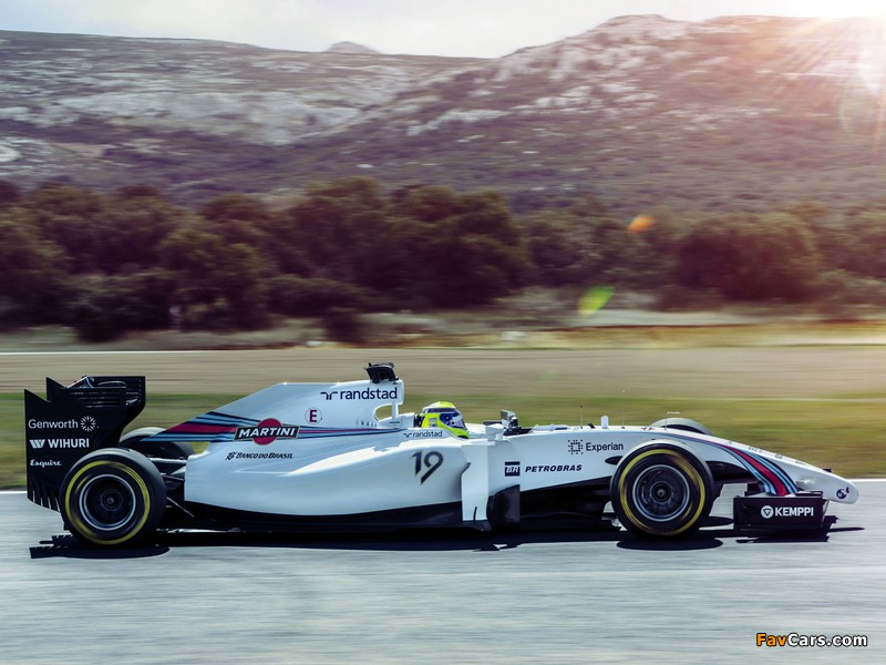 Photos of Williams FW36 2014 (800 x 600)