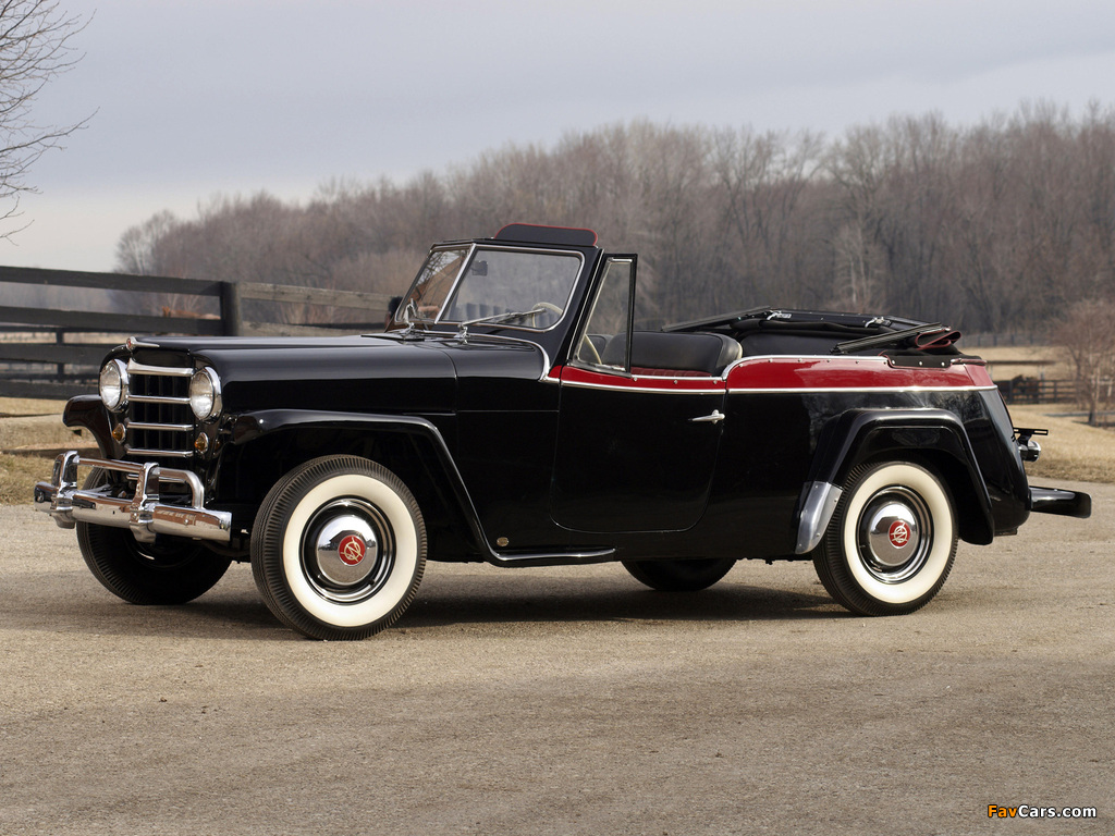 Images of Willys-Overland Jeepster (VJ) 1950 (1024 x 768)