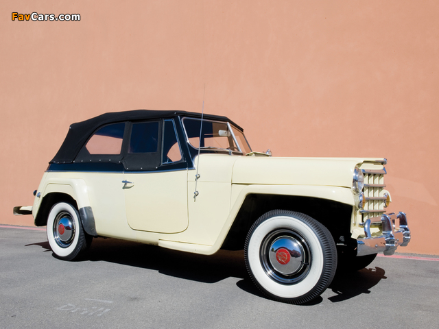 Images of Willys-Overland Jeepster (VJ) 1950 (640 x 480)