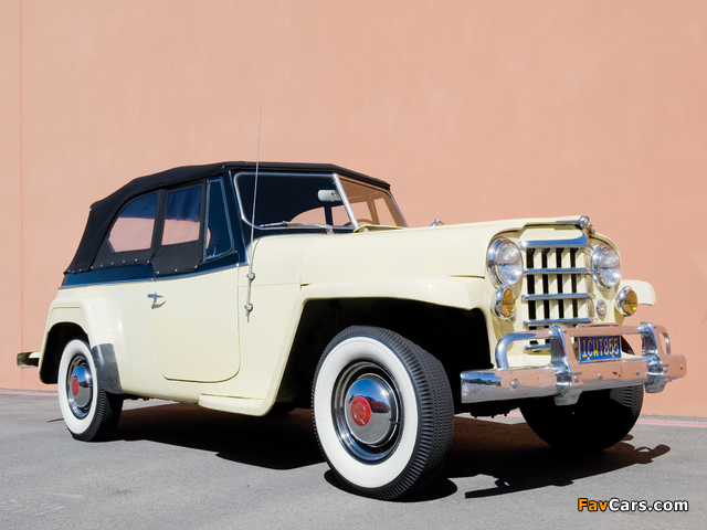 Willys-Overland Jeepster (VJ) 1950 images (640 x 480)
