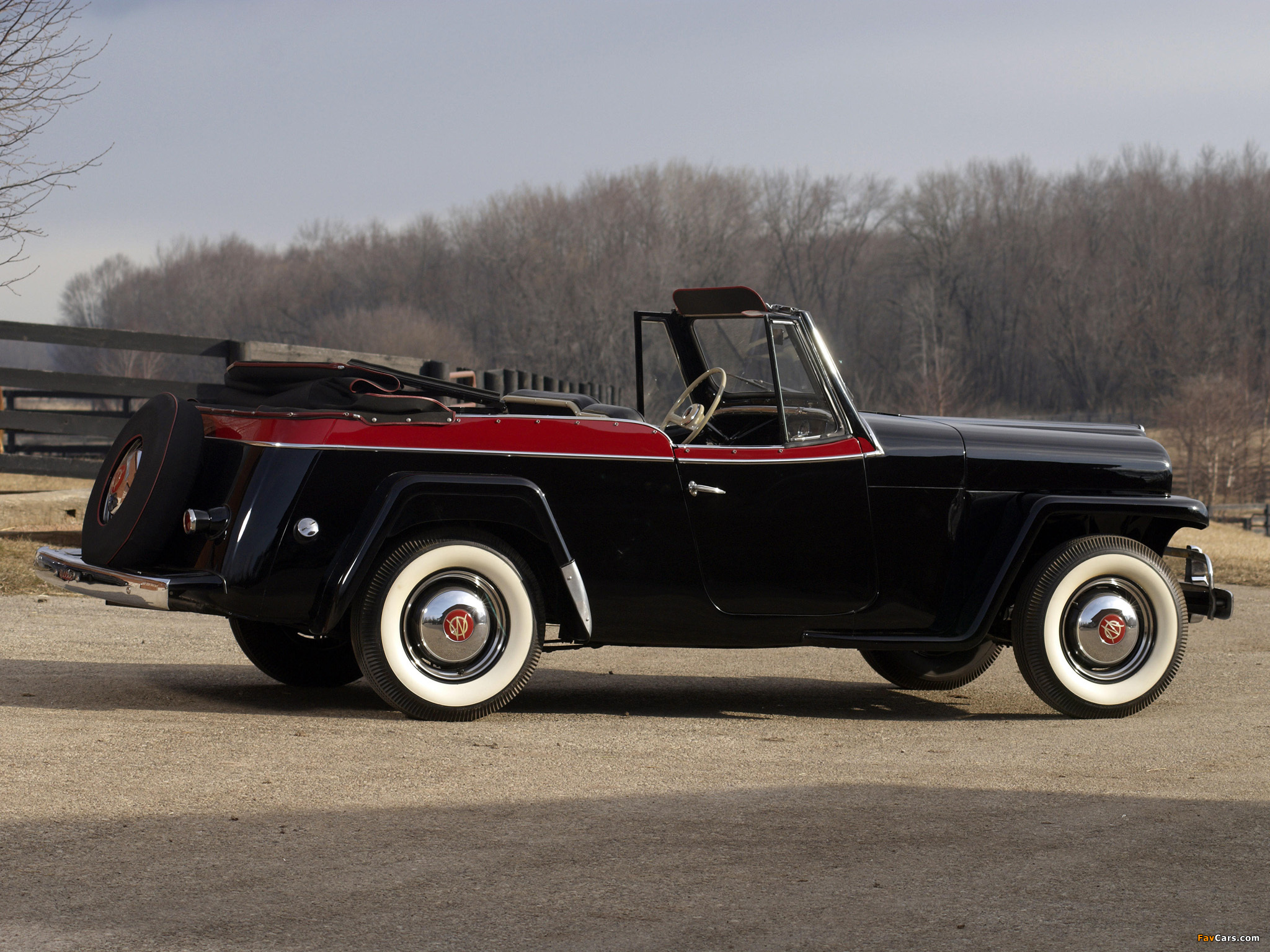 Willys-Overland Jeepster (VJ) 1950 pictures (2048 x 1536)