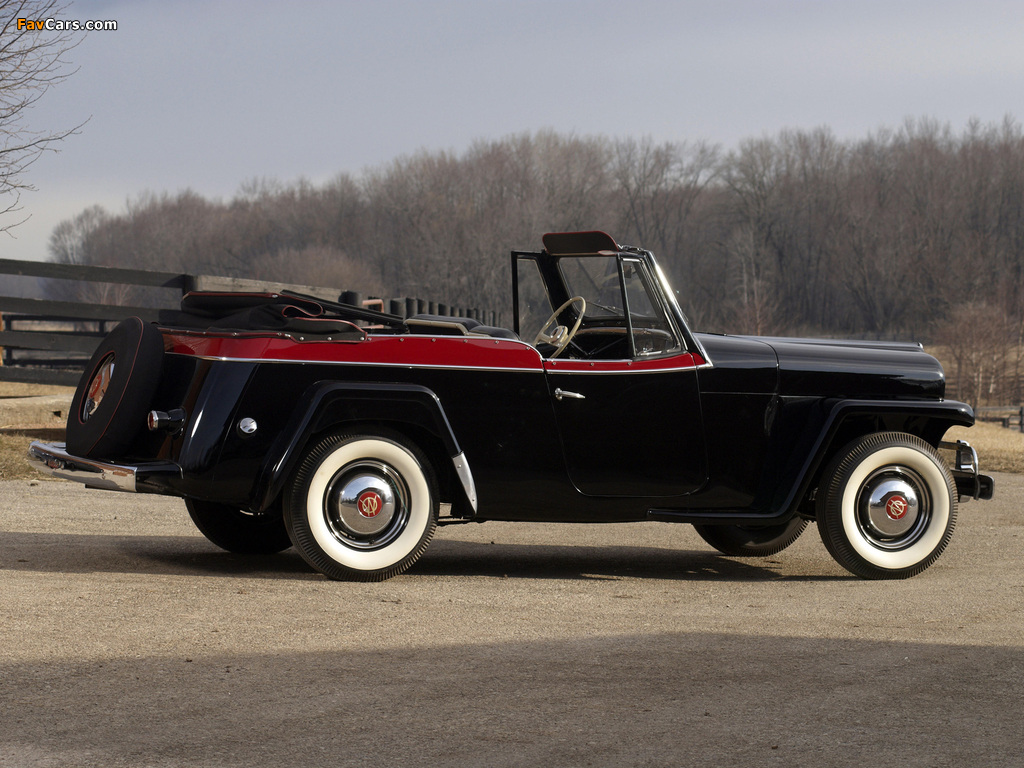 Willys-Overland Jeepster (VJ) 1950 pictures (1024 x 768)