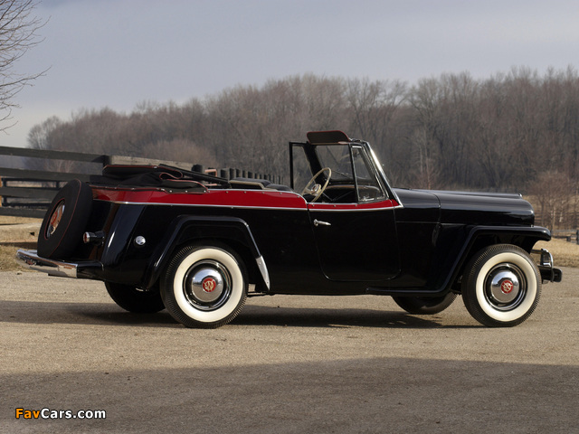 Willys-Overland Jeepster (VJ) 1950 pictures (640 x 480)
