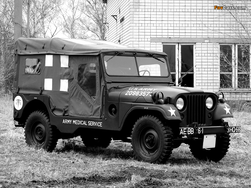 Images of Willys M170 Jeep Ambulance 1953–63 (800 x 600)