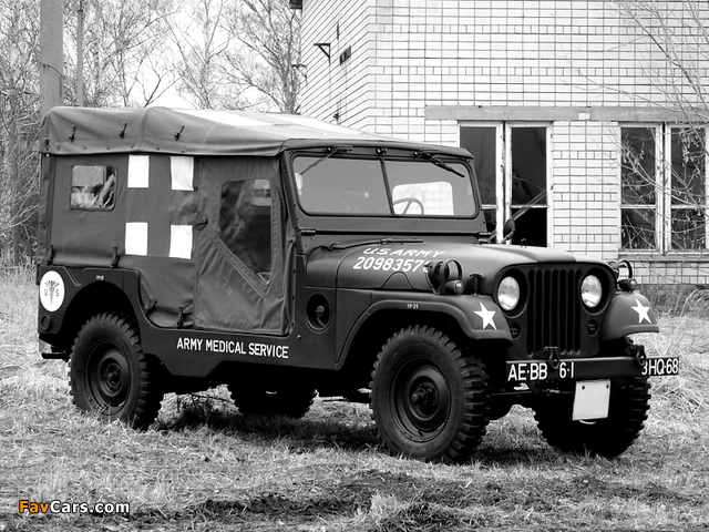 Images of Willys M170 Jeep Ambulance 1953–63 (640 x 480)