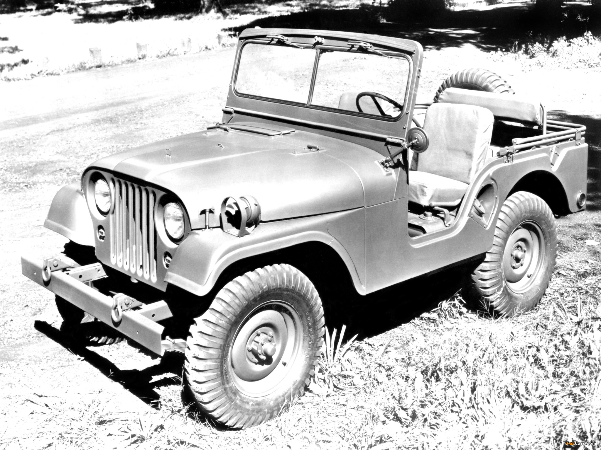 Photos of Willys M38 A1 Jeep 1952–57 (2048x1536)