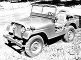 Photos of Willys M38 A1 Jeep 1952–57