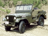 Willys M38 A1 Jeep 1952–57 wallpapers