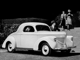 Willys-Overland Model 39 Coupe 1939 wallpapers