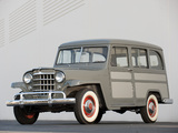 Photos of Willys Station Wagon 1950–53
