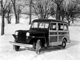 Willys Station Wagon 1949 wallpapers