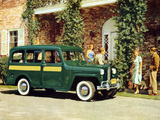 Willys Jeep Station Wagon 1948 wallpapers