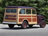 Willys Station Wagon 1949 pictures