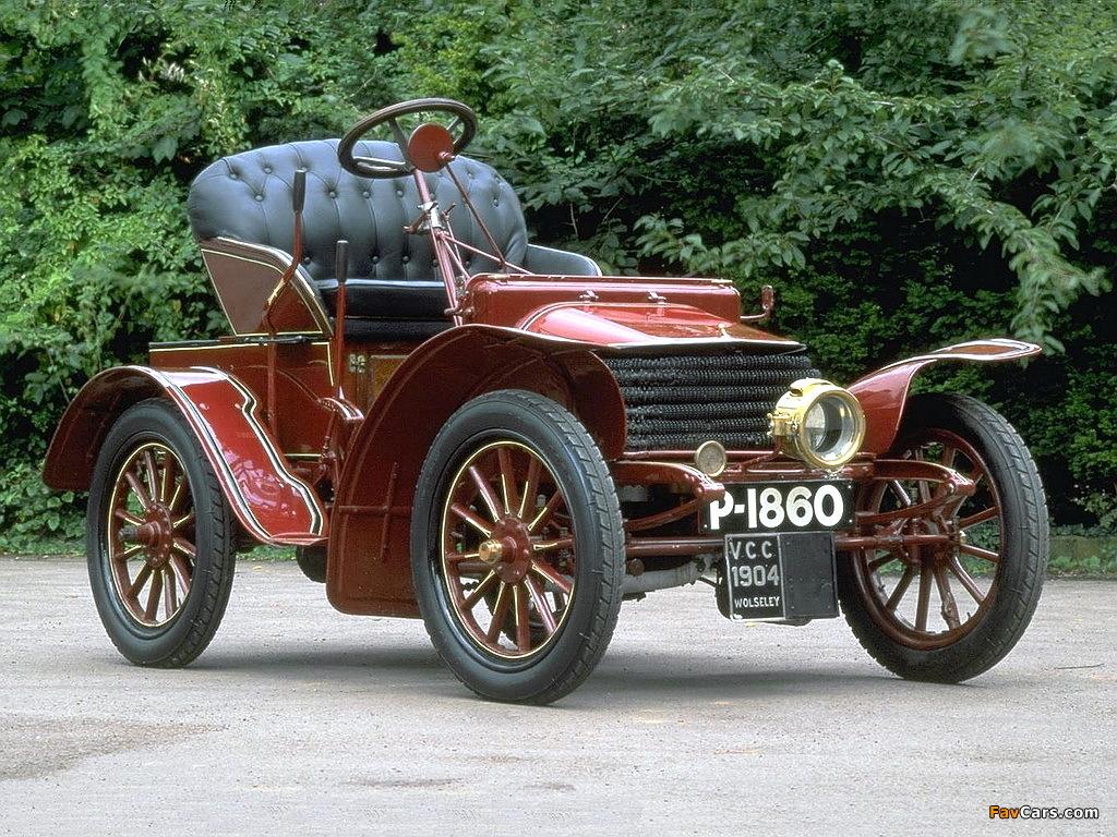Wolseley 6 HP Tonneau 1904 pictures (1024 x 768)
