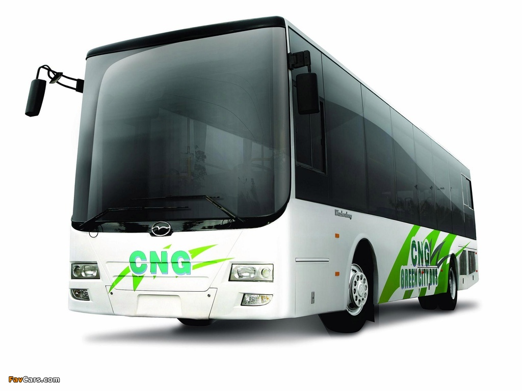 Wuzhoulong FDG6121 CNG 2011 wallpapers (1024 x 768)