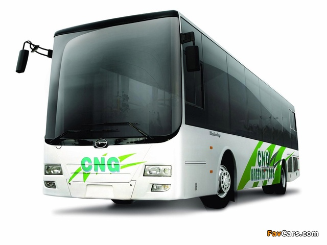 Wuzhoulong FDG6121 CNG 2011 wallpapers (640 x 480)