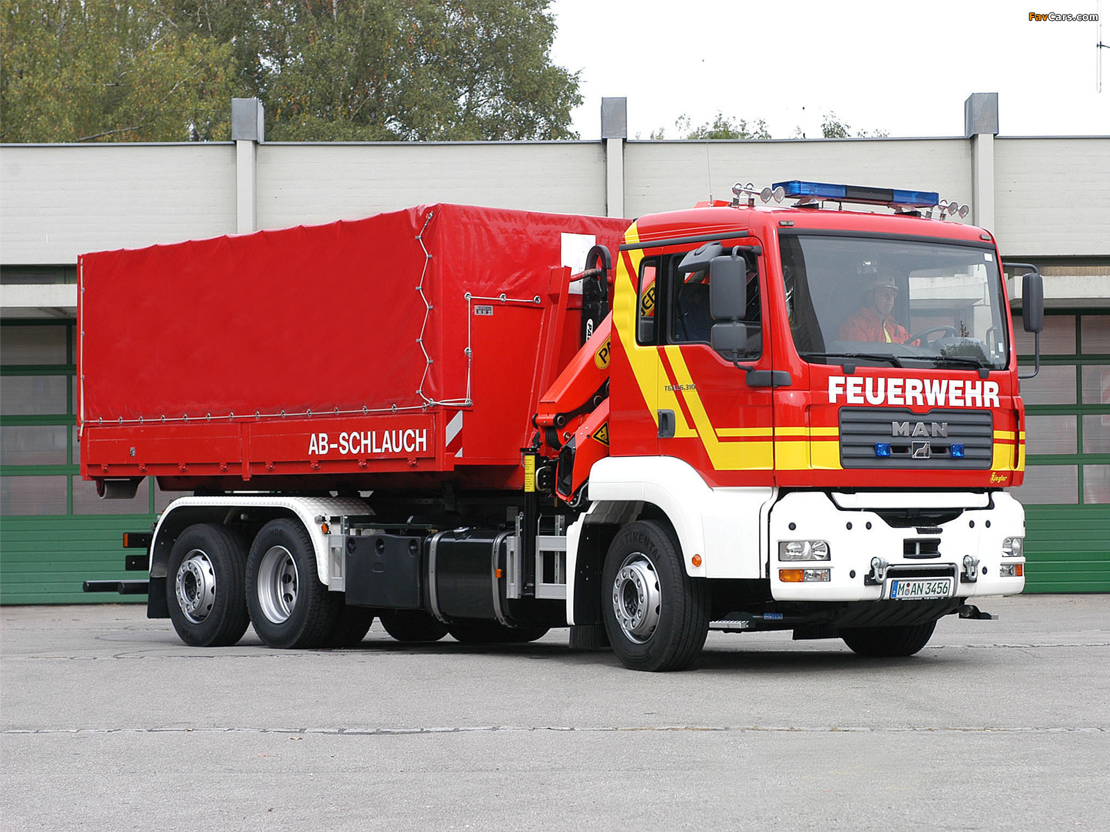 MAN TGA 26.310 Firetruck by Ziegler 2000 pictures (1600 x 1200)