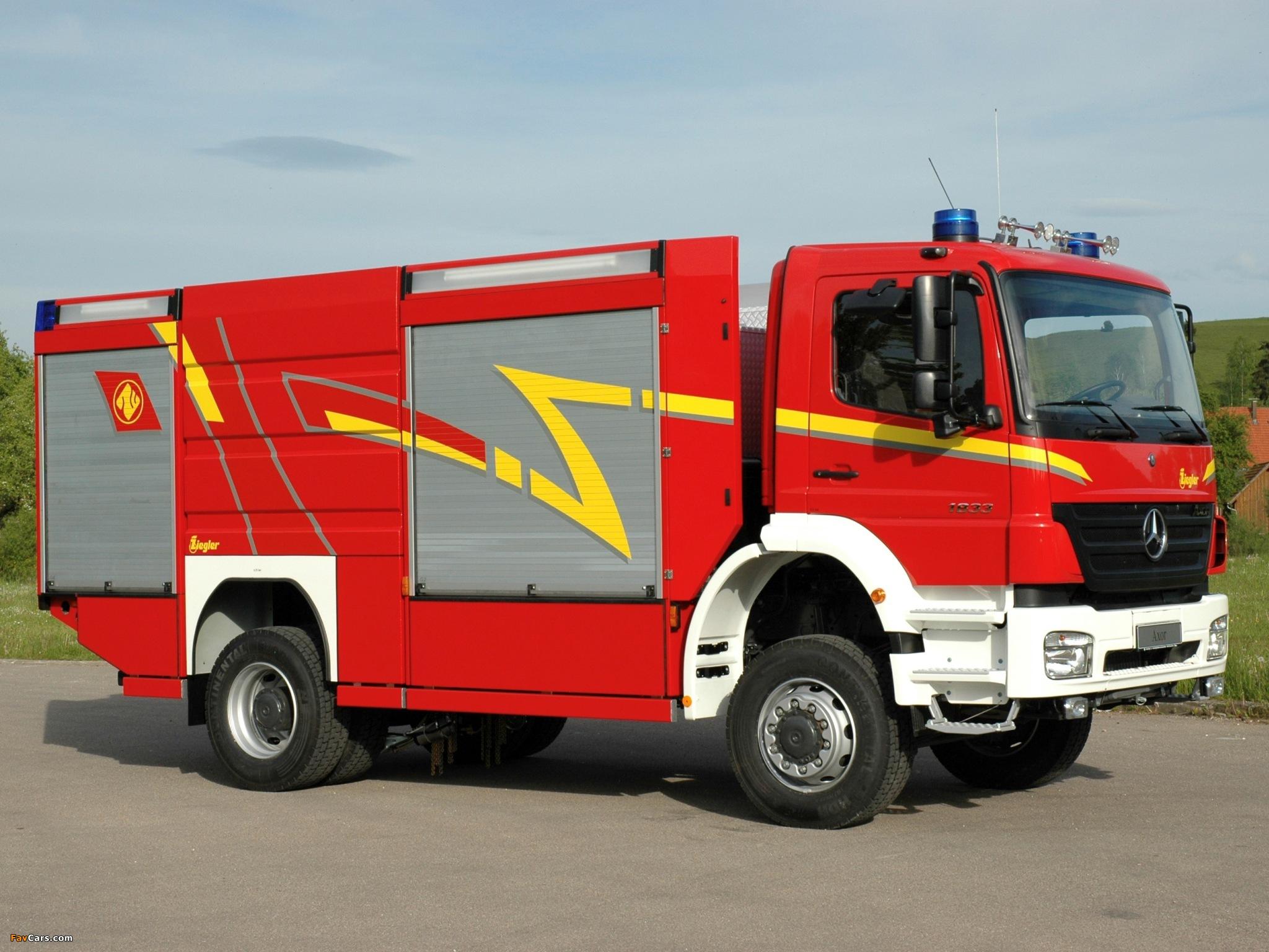 Mercedes-Benz Axor 1833 Feuerwehr by Ziegler 2005–10 wallpapers (2048 x 1536)